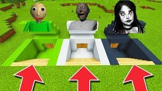 Download Minecraft PE : DO NOT CHOOSE THE WRONG SECRET BASE! (Momo, Baldi's Basics & Granny) Video
