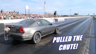 Download Taking The 1000Hp Prelude Down the Track For the First Time! Video