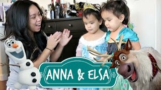 Download MEETING ANNA AND ELSA! - October 27, 2016 - ItsJudysLife Vlogs Video