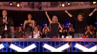 Download He Goes To BGT History with a WORLD RECORD! Unbelievable Video