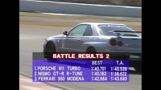 Download Nismo GT-R Skyline vs Ferrari 360 and Porsche 911 Turbo Video