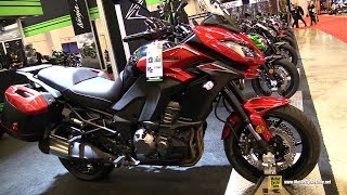 Download 2018 Kawasaki Versys 1000 ABS - Walkaround - 2018 Montreal Motorcycle Show Video