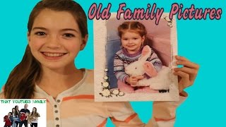 Download Looking at Old Family Pictures Video