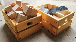 Download Making Sturdy Crates from Scraps Video