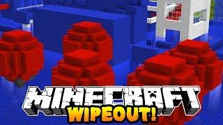 Download Minecraft 1v1 WIPEOUT RACE! (Mazes, Obstacale Course & Parkour!) w/PrestonPlayz & Kenny Video