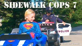 Download Sidewalk Cops 7 - Texting Superman! Video