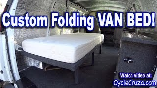 Download Bug Out Camper Van Build Part 4 | Folding Bed | Brentwood RV Mattress Review | Portable Toilet Video