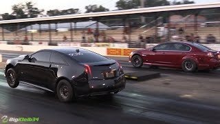 Download Killer Nitrous Cadillac Wheelies to low 9s @ LS Fest! Video