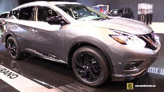 Download 2017 Nissan Murano Midnight Edition - Exterior and Interior Walkaround - 2017 Chicago Auto Show Video