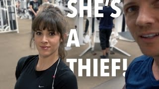 Download SHE'S A THIEF!! Video