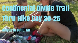 Download CDT Thru Hike Documentary Day 20-25 Helena-Butte MT SOBO. EP4- Storms, Cows, Backpacking Gear Video