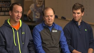 Download Coach Cutcliffe and the Manning Brothers - 60 Minutes Sports Preview Video