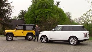 Download Which Land Rover For $70,000? Defender vs Range Rover Video