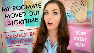 Download MY PSYCHO ROOMMATE MOVED OUT MID-SEMESTER   STORYTIME Video