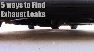 Download 5 Ways to Find Exhaust Leaks Video