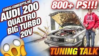 Download AUDI 200, 5 Zylinder 20V, Big Turbo, Quattro, Walter Röhrl, TuningTalk RaceCity Video