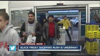 Download Black Friday shopping rush Video