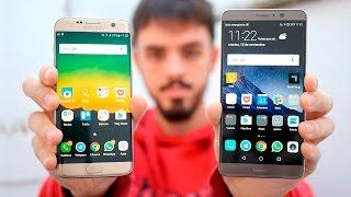Download Galaxy S7 Edge vs Huawei Mate 9, ¿quién es el rey phablet Android? Video
