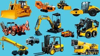 Download Construction Trucks for Kids | Teach Transport vehicles name and sound Video