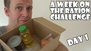 Download A Week On The Ration Challenge DAY 1 Video
