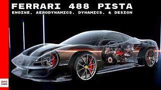 Download Ferrari 488 Pista Engine, Aerodynamics, Dynamics, & Design Video