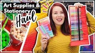 Download HUGE Art Supply & Stationery Haul From All Around The World! Video