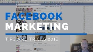 Download Facebook Marketing Tips 2016 | 1 Secret but Powerful Facebook Marketing Tip Video