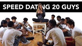 Download 20 vs 1: Speed Dating 20 Guys | Brennan Video
