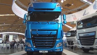 Download DAF XF 530 FT SSC Tractor Truck (2018) Exterior and Interior Video