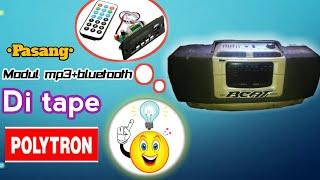 Download Cara pasang modul mp3+bluetooth di Tape polytron grand bazzoke Video