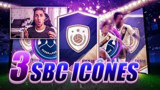 Download 3 SBC ICÔNES AVEC D'ENORMES PACKS !!! FIFA 18 SBC PACK OPENING Video