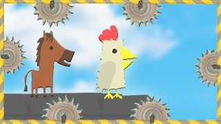 Download IMPOSSIBLE CHICKEN HORSE LEVEL?! (Ultimate Chicken Horse) Video