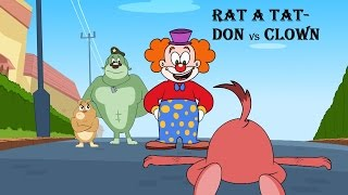 Download Rat-A-Tat   Chotoonz Kids Funny Cartoon Videos   'Don vs Clown' Video
