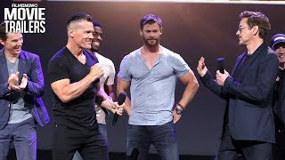 Download Avengers: Infinity War | Meet The Cast with Robert Downey Jr. & Josh Brolin Video