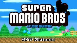 Download Super Mario Bros. - A Classic Adventure! (Beta) • New Super Mario Bros. Hack Video