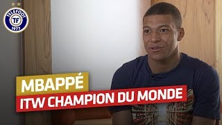 Download Kylian Mbappé : Son interview après le Mondial en intégralité ! Video