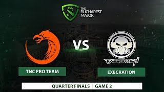 Download TNC vs Execration   Finals   Game 2   Bucharest Major 2018 Video