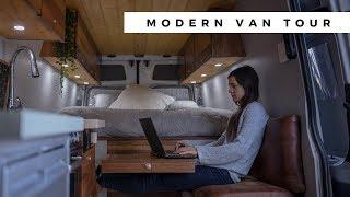 Download VAN TOUR | MODERN DIY SPRINTER CAMPERVAN CONVERSION Video