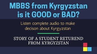 Download MBBS in Kyrgyzstan Never Go | Be aware of fake agents who promote Kyrgyzstan Video