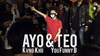 Download EPIC Ayo & Teo x Kvng Khii Performance to Rolex, Bad and Boujee, & Swang Video