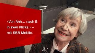 Download «Von Ähh… nach B in zwei Klicks.» – mit SBB Mobile. Video