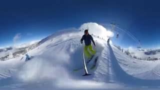 Download 360 VR Skiing - Revelstoke BC, Canada Video