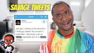Download Reading WEIRD Scottish Tweets | SAVAGE LEVEL 9000 Video