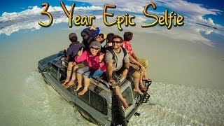 Download Around the World in 360° Degrees - 3 Year Epic Selfie Video