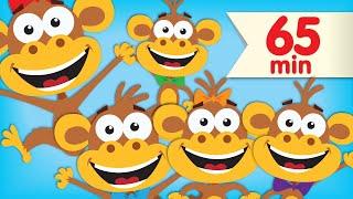 Download Five Little Monkeys | + More Super Simple Songs & Nursery Rhymes Video