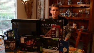 Download Gaming PC Build Holiday Edition 2016 - GTX 1070 & i5 6600k Video