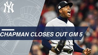 Download Aroldis Chapman closes out the ALDS Game 5 to help send the Yankees to the ALCS Video