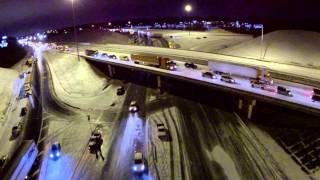 Download Aerial Video of Winter Storm 2014 Alabama Video