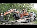 Download Spider Excavator Transport By Quester Self Loader Truck Euromach R145 Video