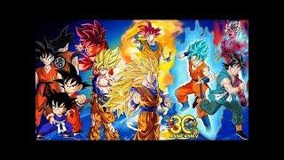 Download Tutte le trasformazioni di Goku in assoluto Video